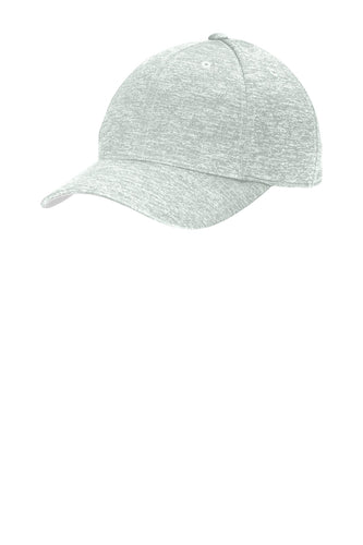 sport tek posicharge electric heather cap silver electric