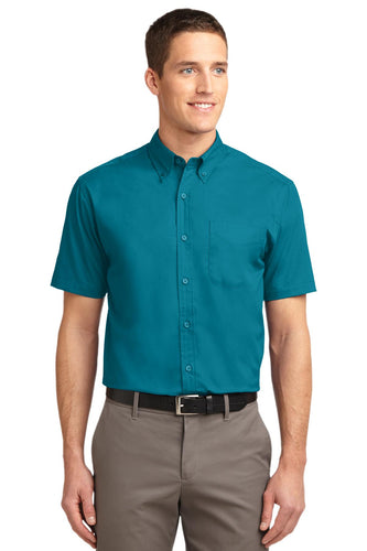 Port Authority Teal Green TLS508 custom work shirts