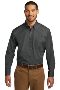 Port Authority Graphite W100 logo shirts