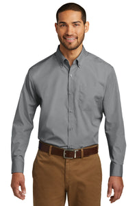 Port Authority Gusty Grey W100 logo shirts