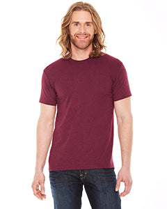 american apparel_bb401w_heather cranberry_company_logo_t-shirts