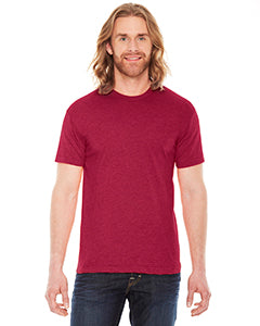 american apparel_bb401w_heather red_company_logo_t-shirts