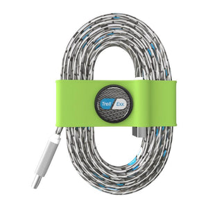 Tie Organizer and Cable Kit-USB-C-to USB BN0021, Green