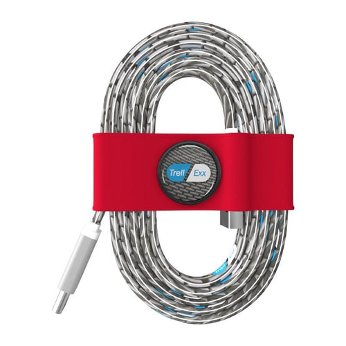 Tie Organizer and Cable Kit-USB-C-to USB BN0021, Red