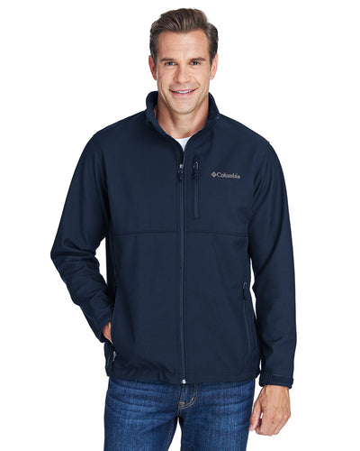 columbia ascender soft shell c6044 collegiate navy