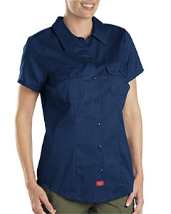 dickies_fs574_dark navy_company_logo_button downs