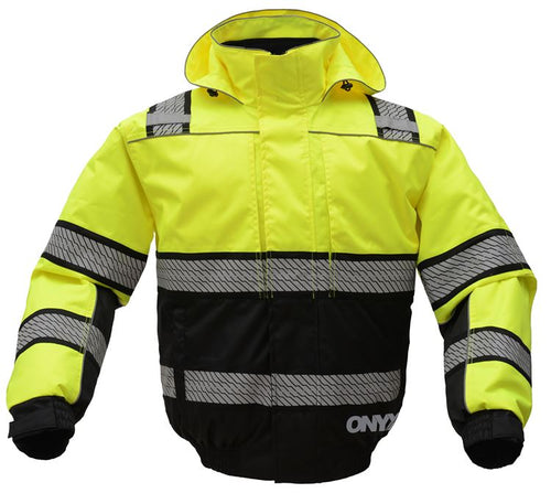 GSS Onxy 3 N 1 Winter Bomber Jacket 8511 Lime