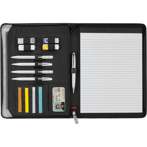 Wenger® Zippered Padfolio