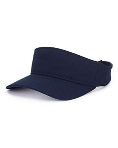 Yupoong Adult Cool & Dry Visor Y8110 NAVY