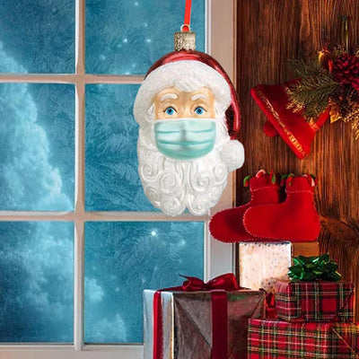 SPYXE-SANTA WITH MASK WEIHNACHTSORNAMENT