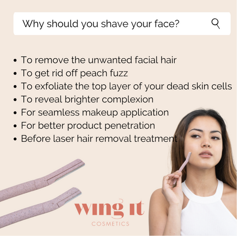 Dermaplaning how to why you should shave your face tips