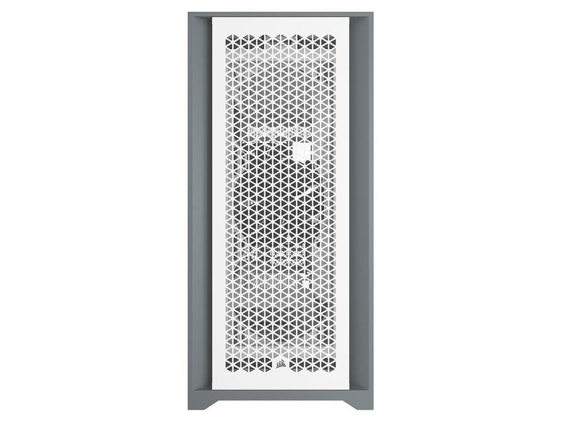 Corsair 5000D AIRFLOW Tempered Glass Mid-Tower ATX PC Case — Black/White-PC Cases-Availability_In Stock, Brand_Corsair, Form Factor_Mid Tower, Supplier3-Gear Here