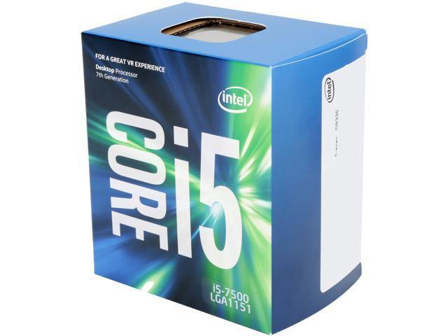Intel Core i5-7500 Processor (6M Cache, up to 3.80 GHz)-CPU-Availability_In Stock, Brand_Intel, Platform_Intel, Series_Intel 7th Gen, Socket_LGA1151-Gear Here