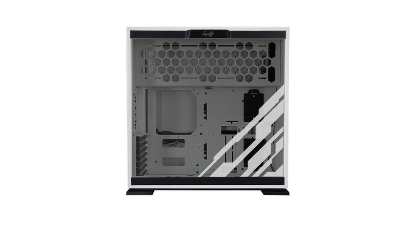 In Win CF06 303 RGB MSI Dragon Edition Gaming Case - White-PC Cases-Availability_In Stock, Brand_InWin, Form Factor_Mid Tower-Gear Here