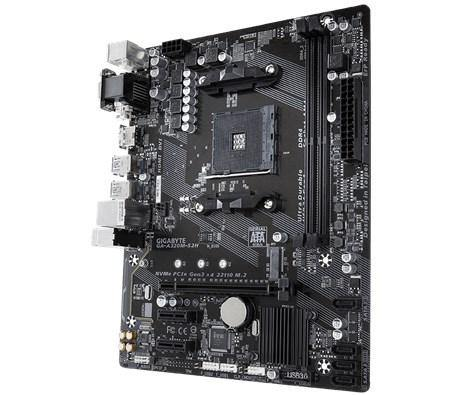 Gigabyte GA-A320M-S2H-Motherboard-AM4, AMD, Availability_Out of stock, Brand_Gigabyte, Motherboard, Platform_AMD, Series_A320M, Socket_AM4-Gear Here