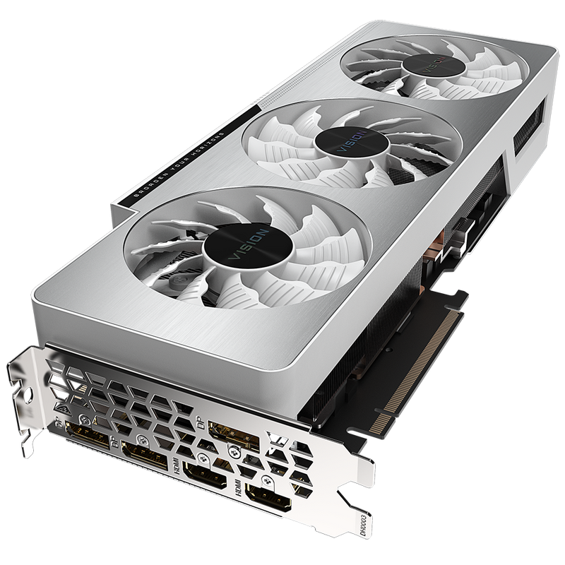 Gigabyte GeForce RTX3080 VISION OC 10G Graphics Card-Graphics Cards-Availability_Out of stock, Brand_Gigabyte, Platform_Nvidia, PROCESSOR_RTX 3080, Series_RTX 3000-Gear Here