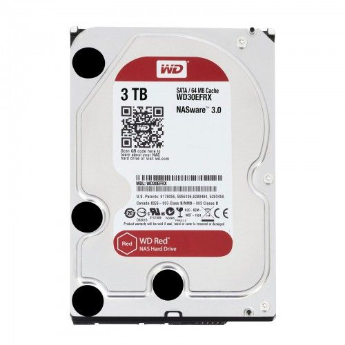 "Western Digital Red 3TB 3.5"" SATA3 6.0Gbps NAS HDD, Intellipower™ Speed Management-Storage-Availability_Out of stock, Brand_Western Digital, Capacity_3 TB, Supplier1, Type_HDD-Gear Here"