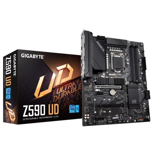 Gigabyte Z590 UD Motherboard-Motherboard-Availability_Out of stock, Brand_Gigabyte, Platform_Intel, Series_Z590, Socket_LGA 1200-Gear Here