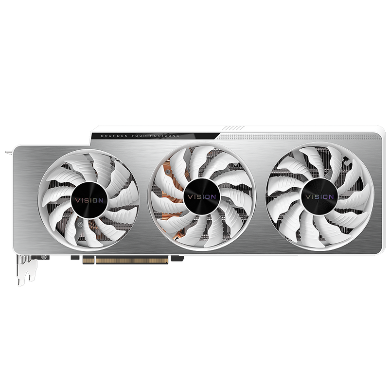 Gigabyte GeForce RTX 3090 VISION OC 24GB Graphics Card-Graphics Cards-Availability_Out of stock, Brand_Gigabyte, Platform_Nvidia, PROCESSOR_RTX 3090, Series_RTX 3000, Supplier3-Gear Here