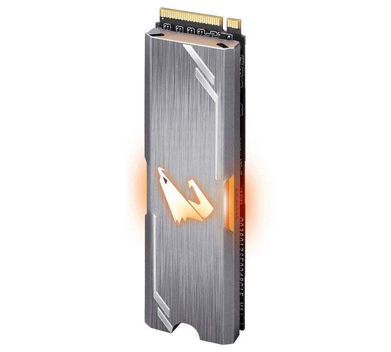 GIGABYTE AORUS RGB M.2 SSD 512GB-Storage-Availability_Out of stock, Brand_Gigabyte, Capacity_ 500 GB, Type_M.2 NVMe SSD-Gear Here