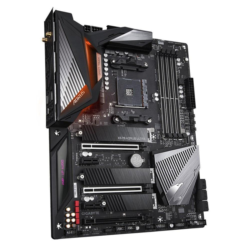 Gigabyte X570 AORUS ULTRA-Motherboard-AM4, AMD, Availability_Out of stock, Brand_Gigabyte, Motherboard, Platform_AMD, Series_X570, Socket_AM4-Gear Here