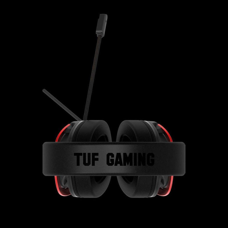 ASUS TUF Gaming H3 7.1 surround sound gaming headset - Gunmetal/Silver/Red-Headset-Audio_7.1 surround sound, Availability_In Stock, Brand_ASUS, Connectivity_Wired, Peripherals, Type_Headset-G