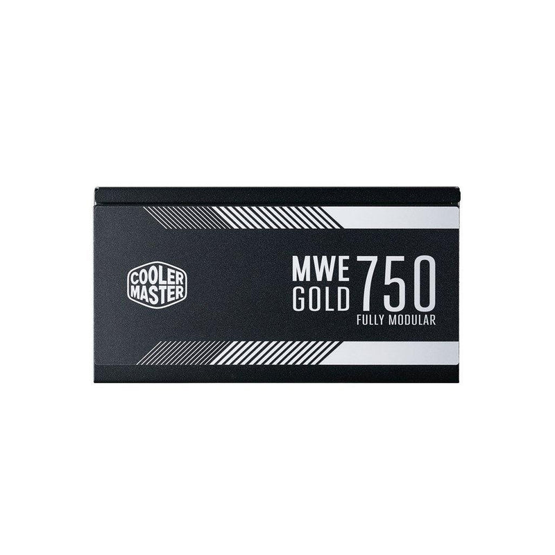 Cooler Master MWE Gold Full Modular 750W PSU-Power Supply-80 PLUS Certification_Gold, Availability_In Stock, Brand_Cooler Master, Modular_Full, Supplier2, Total Power_750W-Gear Here