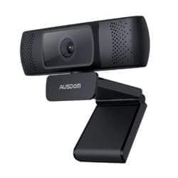 AUSDOM AF640 1080P FHD WIDE ANGLE DESKTOP WEBCAM-Webcam-Ausdom, Availability_In Stock, Supplier1, Webcams-Gear Here