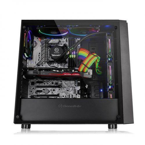 Thermaltake Versa J21 Tempered Glass Edition Mid Tower Chassis-Availability_Out of stock, Brand_Thermaltake, Form Factor_Mid Tower-Gear Here