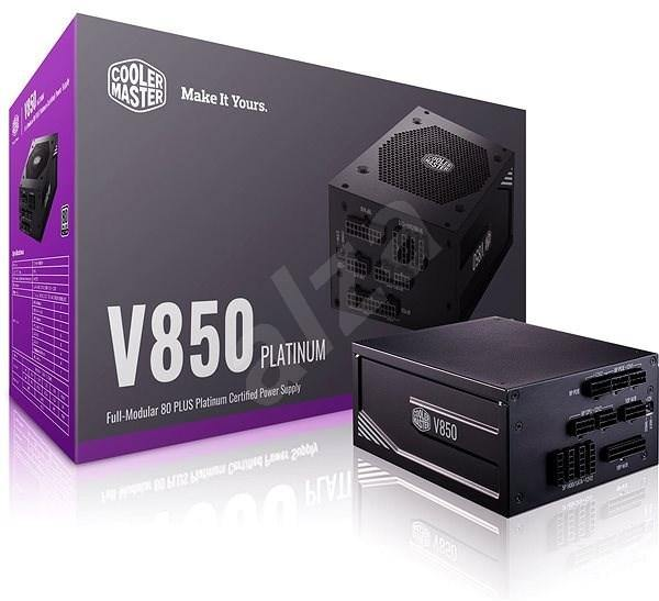 Cooler Master V850 Platinum Power Supply-Power Supply-80 PLUS Certification_Platinum, Availability_Out of stock, Brand_Cooler Master, Modular_Full, Total Power_850W-Gear Here