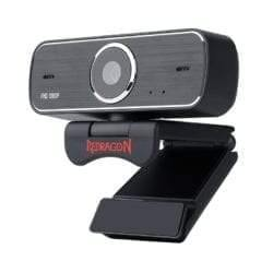 REDRAGON HITMAN 1080P|72 FOV|MOUNT BRACKET|30 FPS PC WEBCAM – BLACK-Webcam-Availability_Out of stock, Redragon, Webcams-Gear Here