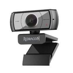 REDRAGON APEX 1080P|TRIPOD STAND|30F FPS PC WEBCAM – BLACK-Webcam-Availability_Out of stock, Red Dragon, Supplier1, Webcams-Gear Here