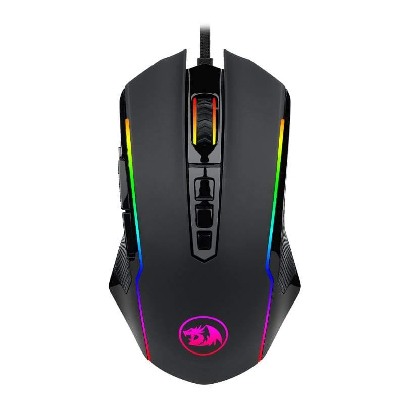 REDRAGON RANGER 12400DPI GAMING MOUSE – BLACK-Mouse-Availability_Out of stock, Brand_Redragon, Connectivity_Wired, Supplier1, Type_Mouse-Gear Here