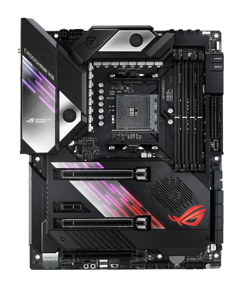 ASUS ROG CROSSHAIR VIII FORMULA-Motherboard-AM4, AMD, Availability_In Stock, Brand_ASUS, Motherboard, Platform_AMD, Socket_AM4, Supplier2-Gear Here