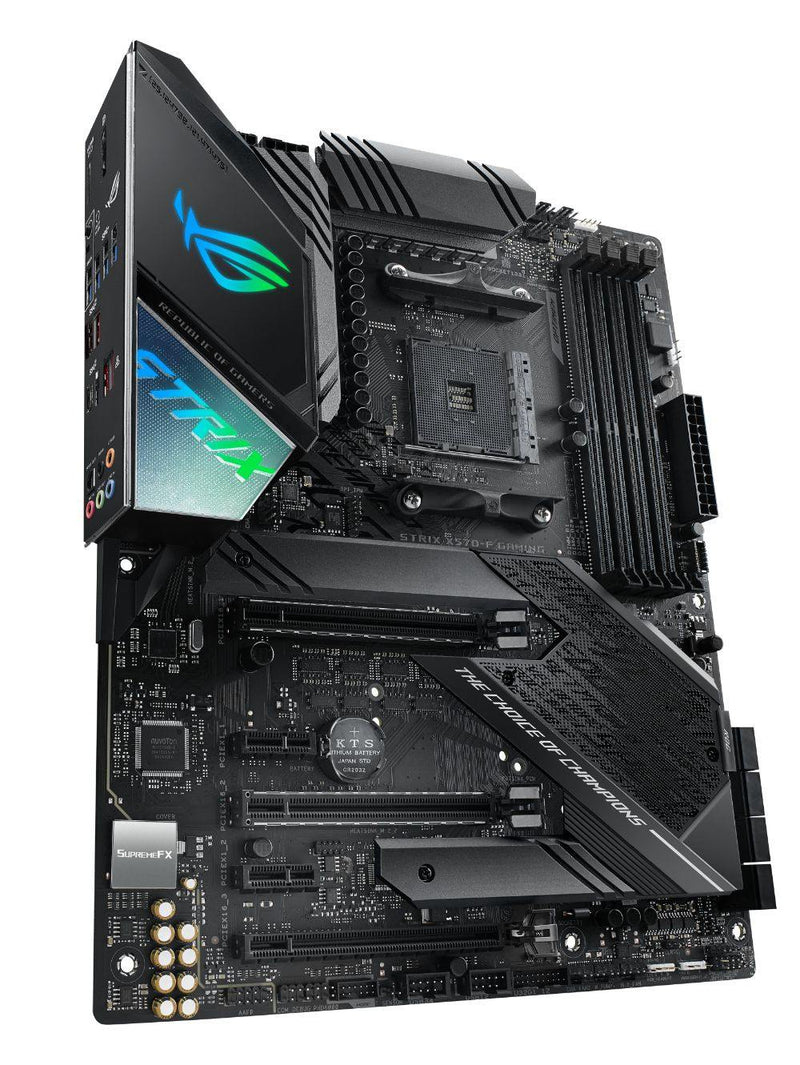 ASUS ROG STRIX X570-F GAMING-Motherboard-AM4, AMD, Availability_Out of stock, Brand_ASUS, Motherboard, Platform_AMD, Series_X570, Socket_AM4, Supplier2-Gear Here