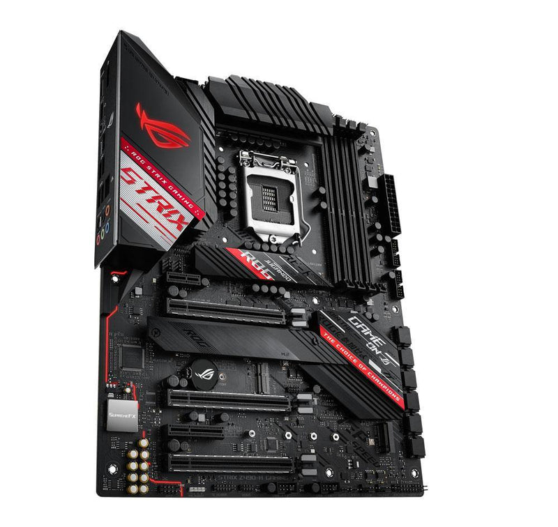 ASUS ROG STRIX Z490-H GAMING Motherboard-Availability_In Stock, Brand_ASUS, Components, Intel LGA 1200, Motherboard, Platform_INTEL, Series_Z490, Socket_LGA 1200-Gear Here