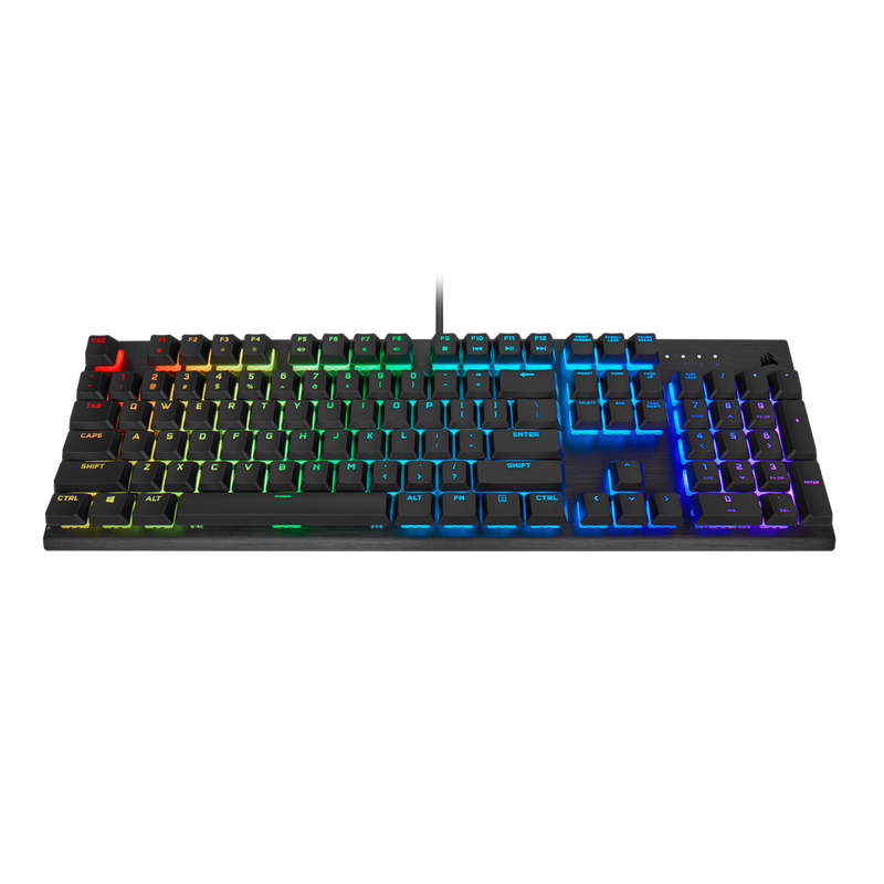 Corsair K60 RGB Pro Mechanical Gaming Keyboard-Keyboards-Availability_In Stock, Brand_Corsair, Connectivity_Wired, Supplier3, Type_Keyboard-Gear Here
