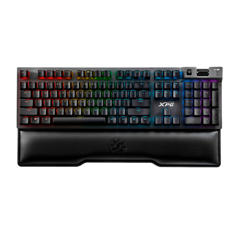 XPG SUMMONER CHERRY MX RGB Key Switches Gaming Keyboard-Keyboards-Availability_In Stock, Brand_XPG, Connectivity_Wired, RGB_YES, Supplier3, Type_Keyboard-Gear Here