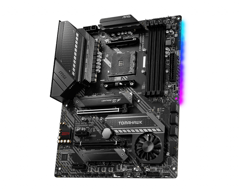 MSI MAG X570 TOMHAWK WIFI AMD Ryzen Socket AM4-Motherboard-Availability_Out of stock, Brand_MSI, Platform_AMD, Series_X570, Socket_AM4-Gear Here
