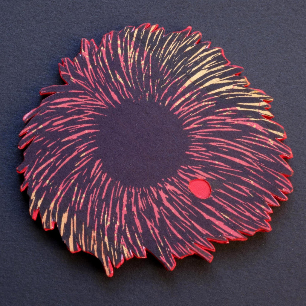 Brooch Comet Medium