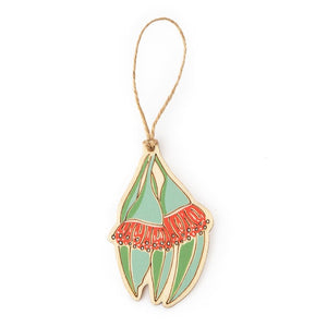 Hanging Plywood Ornament Gum Blossom