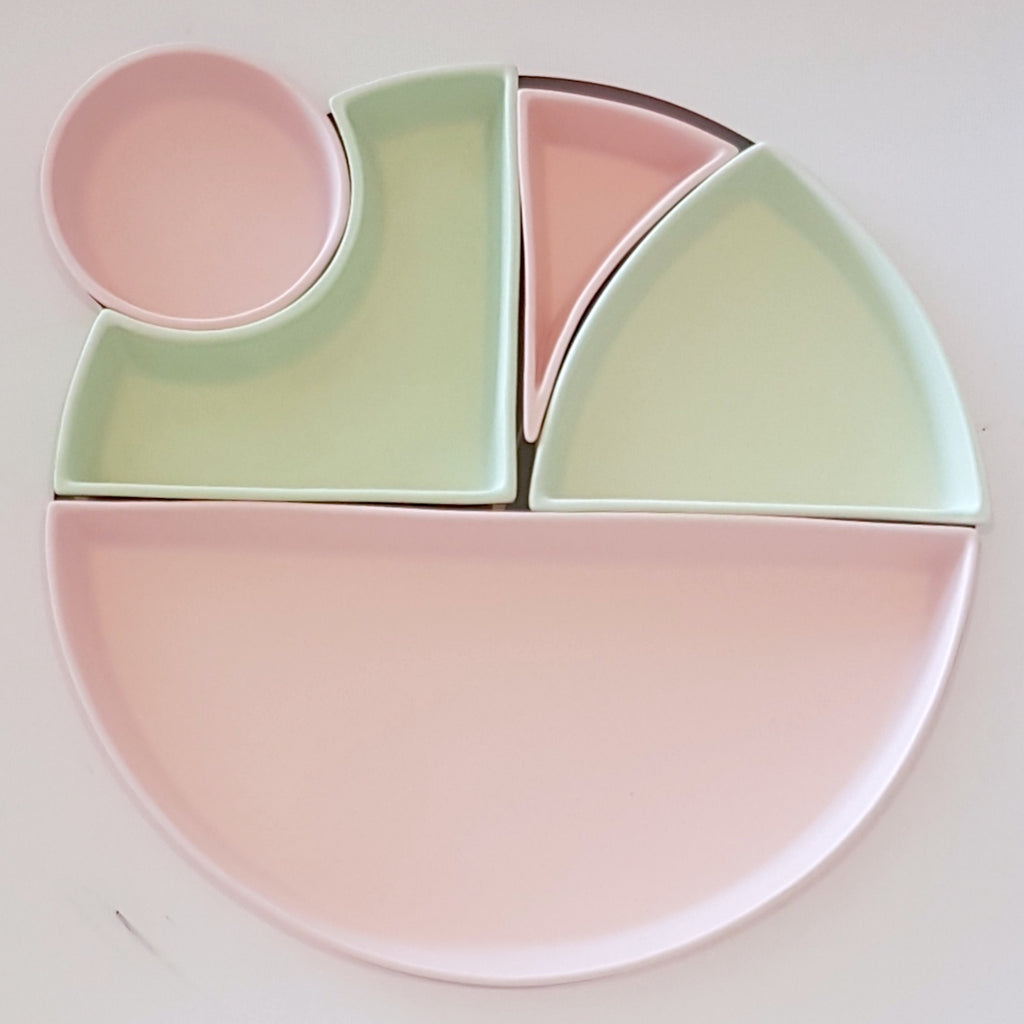 Ceramic Bento Set #0 Pink Mint