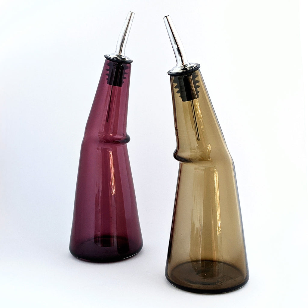 Glass Vinegar Bottle Kink