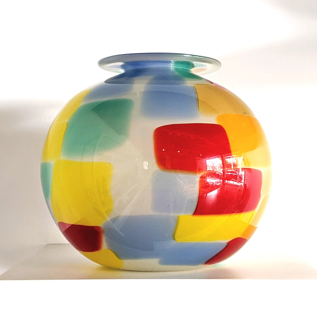 Glass Vessel Pixel Pot