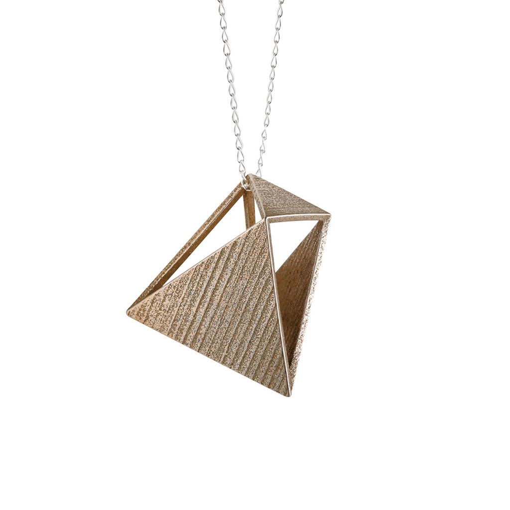 Pendant Naoshima Stainless Steel Sterling Silver