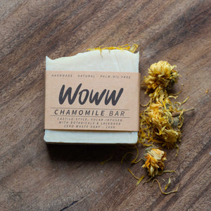 Soap Zero Waste Hand Made Chamomile Bar