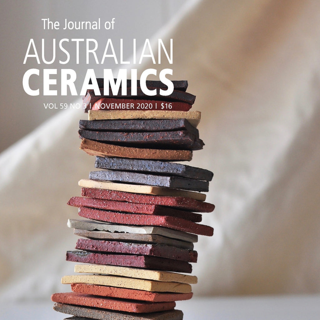 Journal Of Australian Ceramics Vol 59, No. 3 Nov 2020
