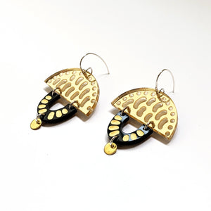 Hook Earrings Perspex Muse #1