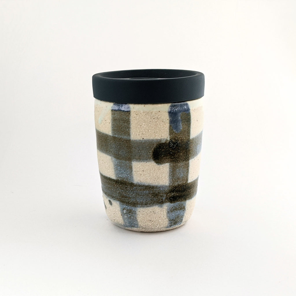 Ceramic Keep Cup Tabi 8oz With Lid