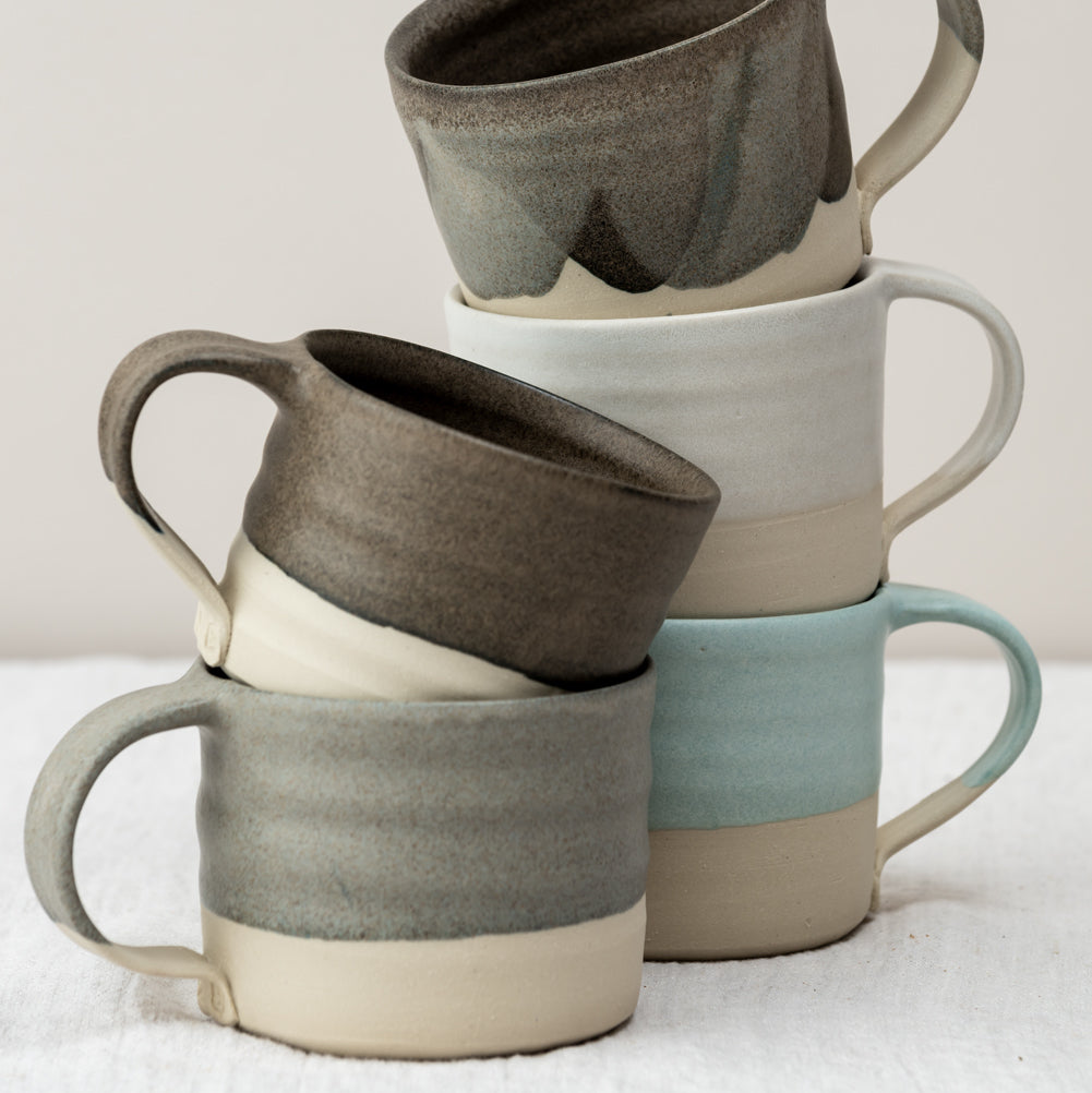 Ceramic Mug With Handle